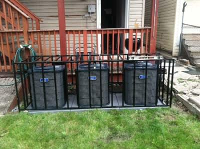 Air Conditioning Cage: Custom