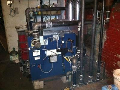 Dunkirk Commercial Steam Boiler